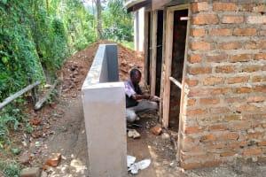 The Water Project: Naliava Primary School -  Latrine Construction