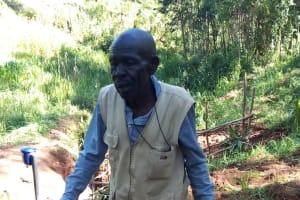 The Water Project: Chepnonochi Community, Chepnonochi Spring -  Samuel Indeche