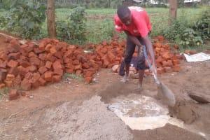 The Water Project: Lwanda Secondary School -  Construction