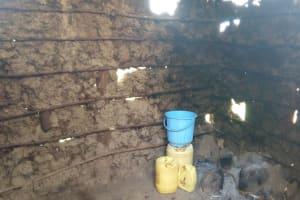 The Water Project: Ivumbu Primary School -  Water Storage In School Kitchen