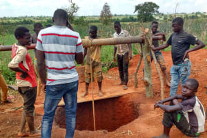 The Water Project: Katugo Community B -  Excavation