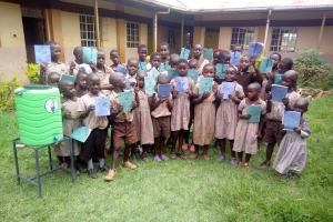 The Water Project: Shitaho Community School -  New Handwashing Station