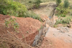 The Water Project: Mbakoni Community -  Sand Dam Construction