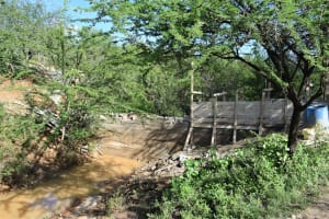 The Water Project: Kithumba Community B -  Sand Dam Construction