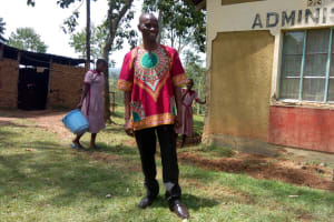 The Water Project: Ivumbu Primary School -  Mr Lwova
