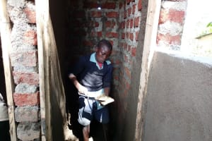 The Water Project: Shihimba Primary School -  Latrine Construction