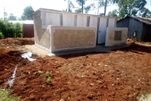 The Water Project: Shitaho Community School -  New Latrines