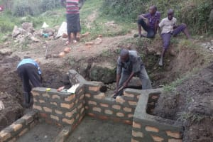 The Water Project: Shirugu Community, Shapaya Mavonga Spring -  Spring Construction