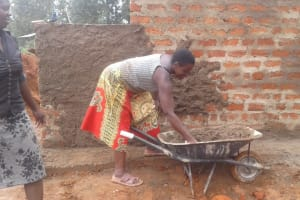 The Water Project: Lwanda Secondary School -  Latrine Construction