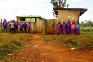 The Water Project: Munyanza Primary School -  Latrines