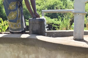 The Water Project: Ngitini Community C -  Water Flowing