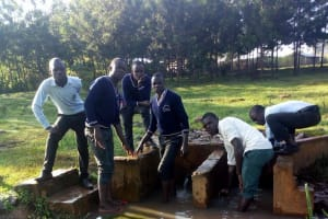 The Water Project: Immaculate Heart Secondary School -  The Community Spring