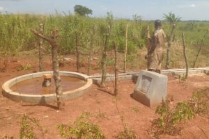The Water Project: Katugo Community B -  Well Pad Drying