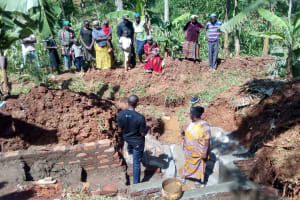 The Water Project: Asimuli Community, John Omusembi Spring -  Spring Care Training