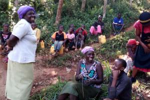 The Water Project: Chepnonochi Community, Chepnonochi Spring -  Training Participants