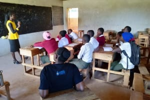 The Water Project: Kaimosi Demonstration Secondary School -  Training