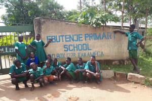 The Water Project: Ebutenje Primary School -  School Entrance