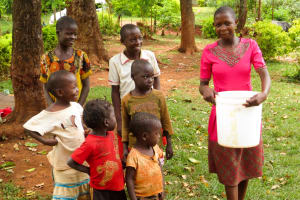 The Water Project: Mutao Community, Kenya Spring -  Community Members
