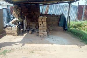 The Water Project: Shisere Community, Richard Okanga Spring -  Brick Business