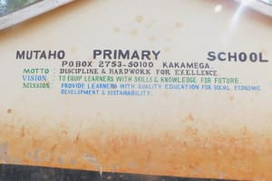 The Water Project: Friends School Mutaho Primary -  Classroom Block