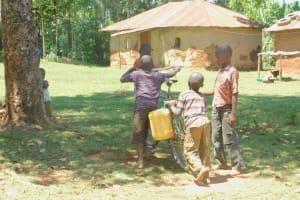 The Water Project: Ataku Community, Ngache Spring -  Children