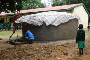 The Water Project: Mavusi Primary School -  Tank Construction