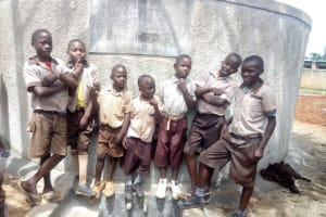 The Water Project: Shitaho Community School -  Flowing Water