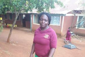 The Water Project: Kitumba Primary School -  Senior Teacher Caro Amuyunzu