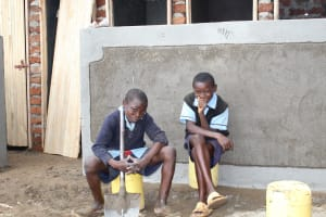 The Water Project: Shihimba Primary School -  Taking A Break