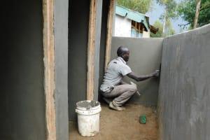 The Water Project: Eshisenye Primary School -  Latrine Construction