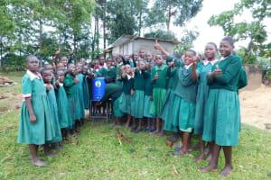 The Water Project: Mavusi Primary School -  Handwashing Station