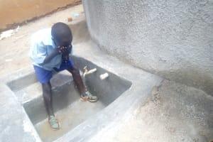 The Water Project: Matsigulu Primary School -  Water Flowing