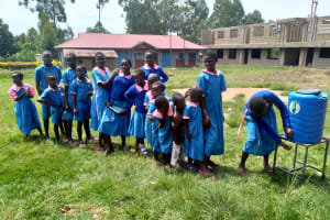 The Water Project: Naliava Primary School -  Handwashing Station
