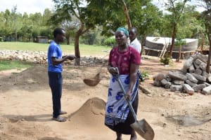 The Water Project:  Sifting Sand
