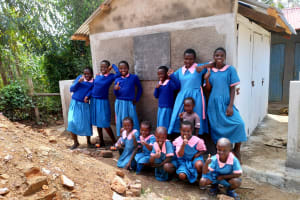The Water Project: Naliava Primary School -  Finished Latrines