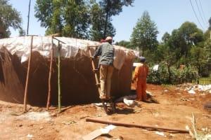 The Water Project: Gidagadi Secondary School -  Tank Construction