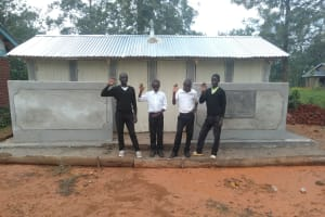 The Water Project: Lwanda Secondary School -  New Latrines