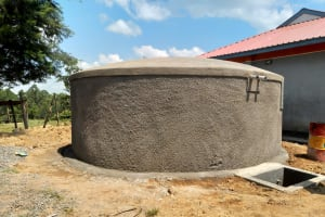 The Water Project: Naliava Primary School -  Finished Tank