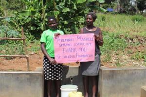 The Water Project: Shirugu Community, Jeremiah Mashele Spring -  Thank You