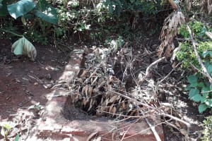 The Water Project: Upper Visiru Community, Wambosani Spring -  Pit For Latrine