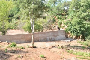 The Water Project: Ilinge Community D -  Finished Sand Dam