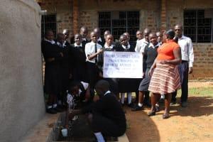The Water Project: Lwanda Secondary School -  Flowing Water