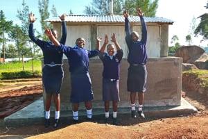 The Water Project: Gidagadi Secondary School -  New Latrines