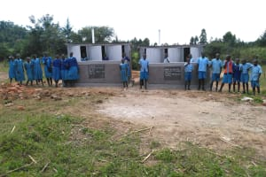 The Water Project: Shivanga Primary School -  New Latrines