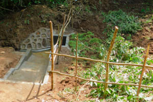 The Water Project: Koloch Community, Solomon Pendi Spring -  Finished Spring Protection