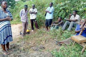The Water Project: Emasera Community, Visenda Spring -  Training