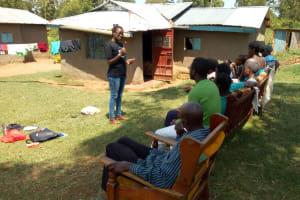 The Water Project: Elutali Community, Obati Spring -  Dental Hygiene Training