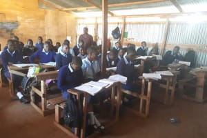 The Water Project: Musasa Secondary School -  Students In Class