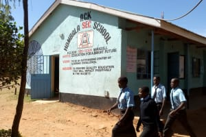 The Water Project: Hombala Secondary School -  School