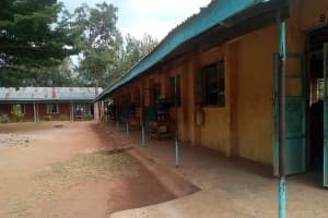 The Water Project: Mukhweya Primary School -  Classrooms